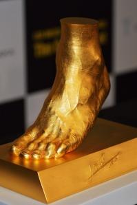 Messi golden foot 5