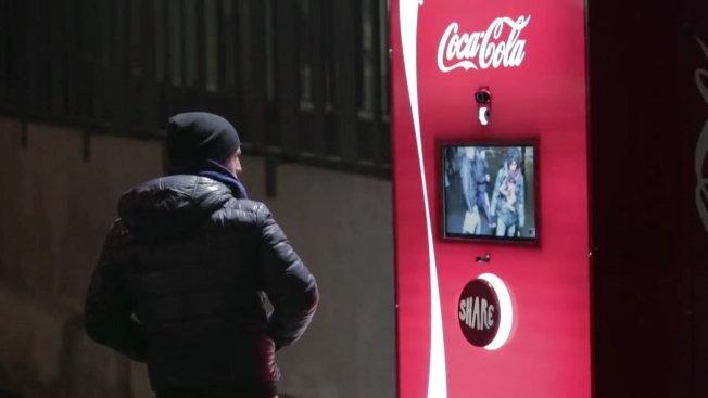 Coca Cola fair play machines 2014